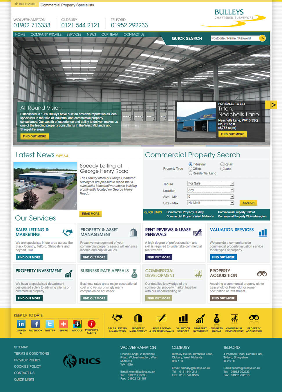Bulleys Commercial Property Specialist